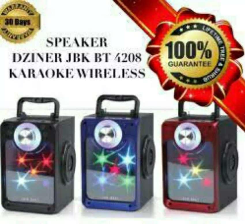 Speaker Bluetooth Led Fleco F-4208 Original 0
