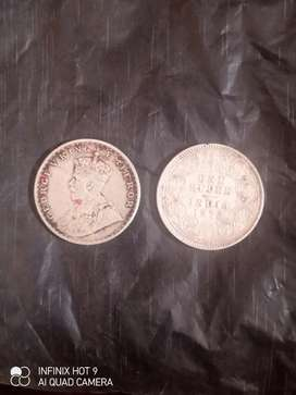 OLD COIN OF BRITISH INDIA 1877 TO 1919