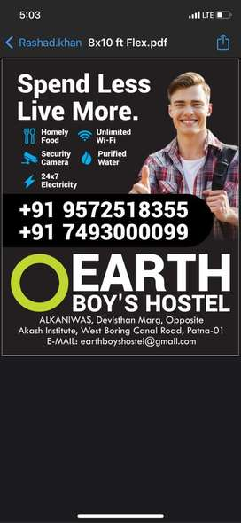 Boy's Hostel & PG