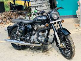 Royal enfield classic350.both disk breake added
