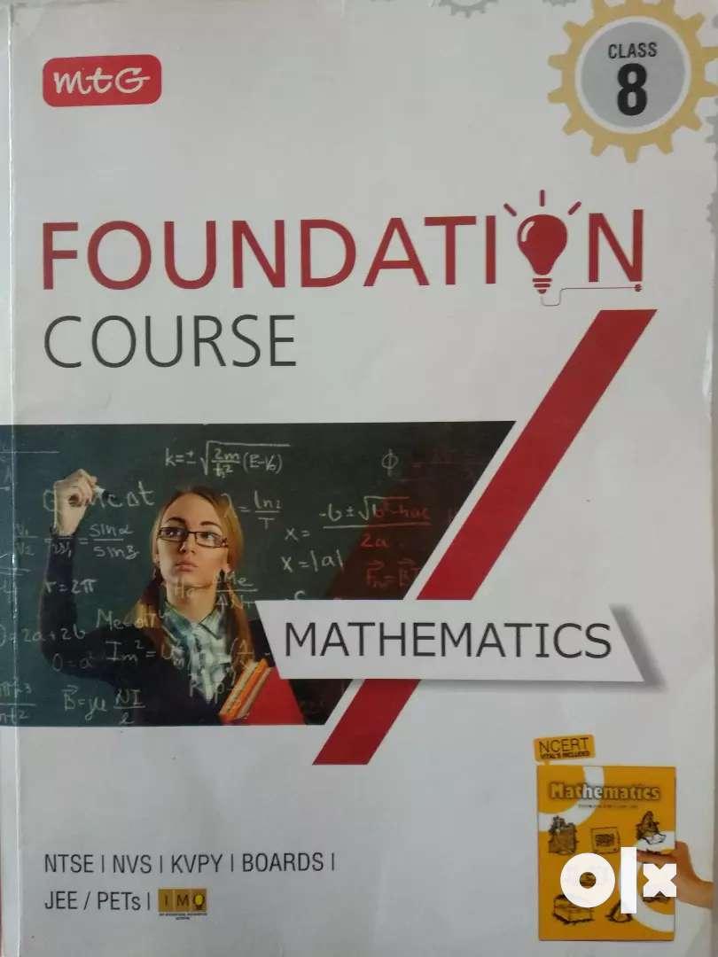 MTG class 8 foundation course Book