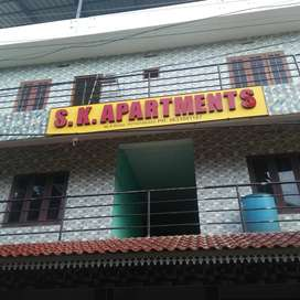 FLAT FOR RENT AT THRIPOONITHURA .PUTHIYAKAVU