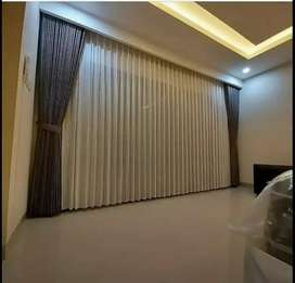 Gordeng hordeng Korden minimalis gorden curtain blinds