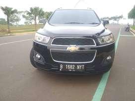 Chevrolet captiva 2.0L 2015 Hitam