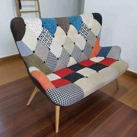 Dijual 1 set Kursi sofa ruang tamu ruang keluarga (double & single)