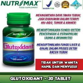 Nutrimax Glutoxidant 30tablet Gangguan liver ginjal dan imunitas tubuh