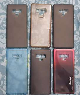 Samsung note 9 back covers.