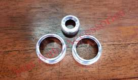 Ring Tombol Bulat AC & Audio BMW F30 Silver