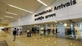 Delhi airport ground staff hiring