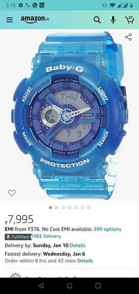 Casio brand new babyG watch