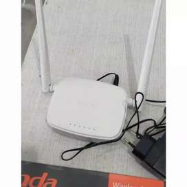Perluas jaringan wifi Tenda N301 3 in 1 ROUTER+ lAccess Point+ iw1