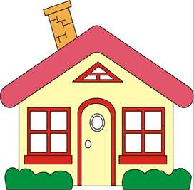 Semi Furnished House for Rent - Only for Families