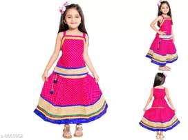 Kids girls skirt and top( lehanga choli ) .