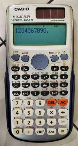 Kalkulator Saintifik Merk Casio Tipe fx-991ES PLUS
