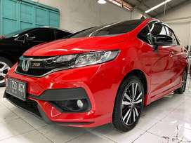 Honda Jazz RS AT GK5 Red 2018 km10rb antik!!