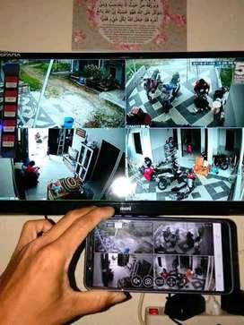 PAKETAN CCTV BISA PANTAU ONLINE VIA HP ANDA