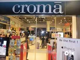 Croma process hiring for Back Office / Data Entry/CCE /hindi BPO jobs