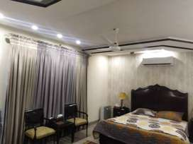 One kanal FULL Furnished and Luxury House IN DHA on daily/weekly basis