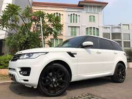 Range Rover Sport 3.0 Bensin White Panoramic PBD 3TV RSE Km17rb Antik