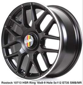 velg racing ROSTOCK 10713 HSR R18X8/9 H5X112 ET35 SMB/ML