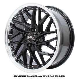stock terbaru hsr wheel type Sepulu ring 17 bml