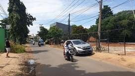 Di Jual Tanah Strategis pinggir jalan Raya ukuran 589 M2, SHM