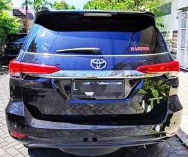 Mobil Fortuner VRZ Matic A/T 2017 KM 18rb Hitam Plat L