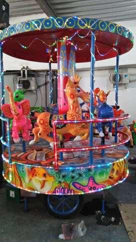 komedi putar panggung odong odong mainan pasar malam kekinian