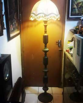 Lampu Kuningan Antik Tinggi 1.8Meter Lampu Tidur / Lampu Ruangan Tamu