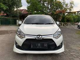 Toyota Agya 1,2cc TRD Matic 2017 Putih Favorit Pajak 06.21 Istimewa