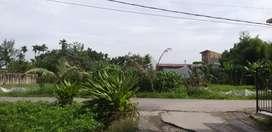 Disewakan sebidang tanah dg luas 1500 m2 dg lokasi strategis