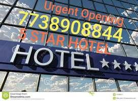 5 STAR HOTEL JOB VACANCY