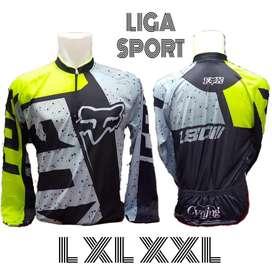 Baju sepeda liga sport