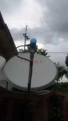 K vision antena parabola
