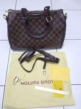 Tas branded mewah murah *Lv/Louis Vuitton* speedy 30 mulus
