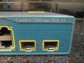 Switch Hub POE Cisco 3560 24 Port Layer 3 Minus 3 Port POE