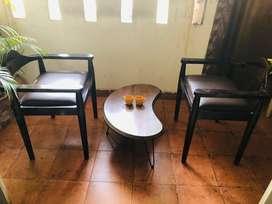 Shesham Set of 2 Wooden Chairs