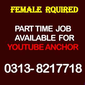 Part time Job available in Lahore for Female