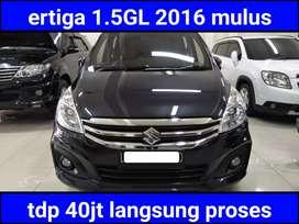 Suzuki ertiga 1.5GL automatic/at 2016 low km +pajak baru