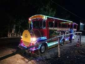 promo murah odong kereta mini wisata dobel gerbong REF teruji