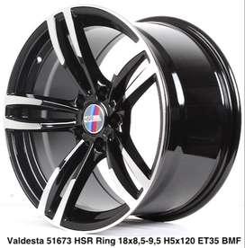 Velg kalimatan VALDESTA 51673 HSR R18X85/95 H5X120 ET35 BMF