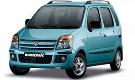 Well maintained Ocean Blue WagonR Duo