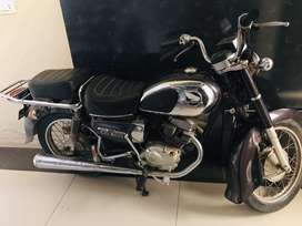 Honda Road Master CD 200 Double silencer bike
