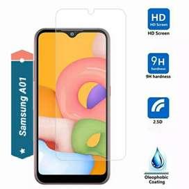 Ultra Tempered Glass ASLI KACA Samsung A01 Dan Type Lain