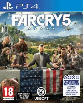 Farcry 5 ps4 game for rent