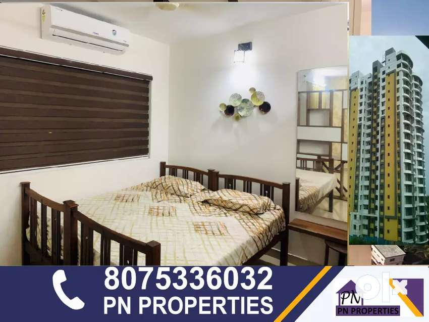 1bhk luxury interior fully furnished flat for rent at landmark world 0