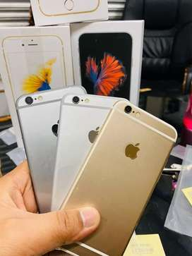 ALL COLORS IPHONE (6-64GB) BOX PACK WITH SELLER  WARRANTY
