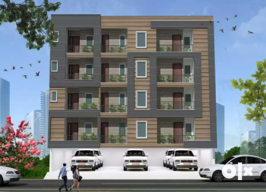 2 BHK 2 Side Open Apartment 0