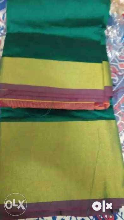 Silk saree/With Blouse 0