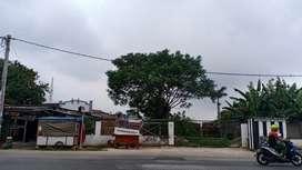 Disewakan Tanah komersial pinggir jalan utama dekat tol cikupa